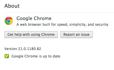 Google Chrome Logging