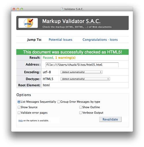 Mac HTML Validator App
