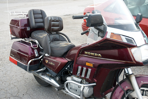 My GL1200 Honda Gold Wing