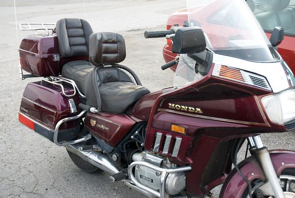 My GL1200 Honda Gold Wing